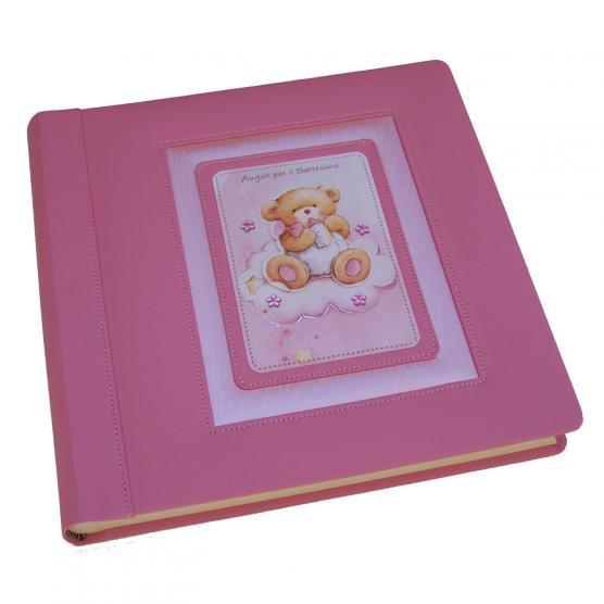 Rosa Geburt Mareli Fotoalbum mit Taschen 21 x 28 cm f/ür 200 Fotos 13 x 18 cm M/ädchen